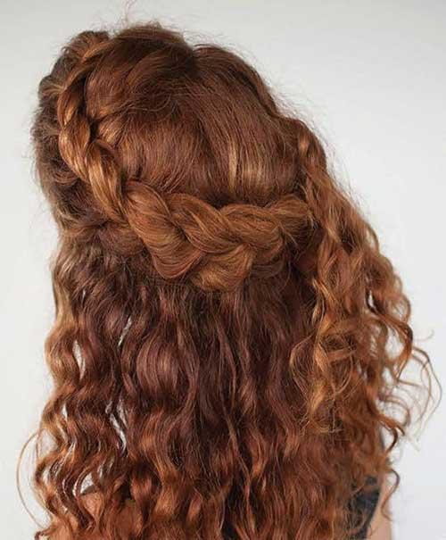 Últimos peinados rizados 2016