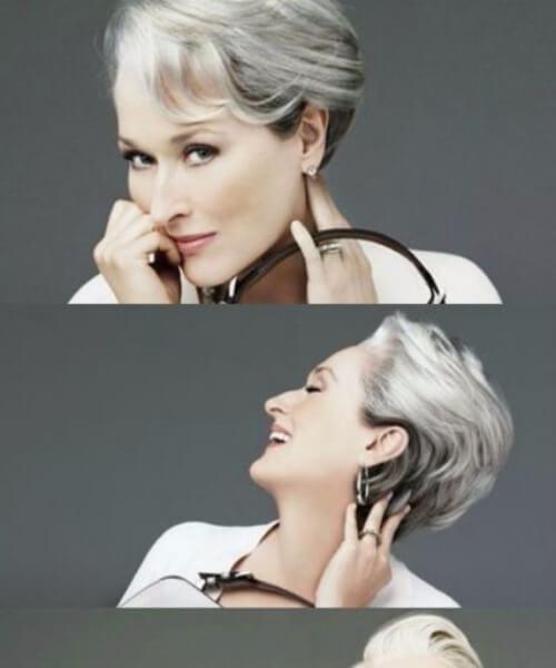 peinados para mujeres mayores de 50 años el diablo viste prada meryl streep