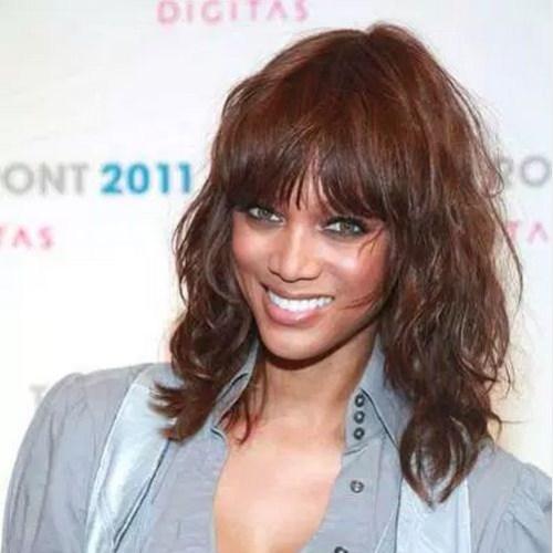 tyra banks bob peinados para mujeres negras