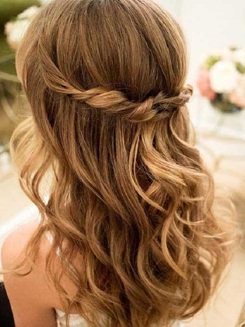 Lindos y largos peinados rizados-11