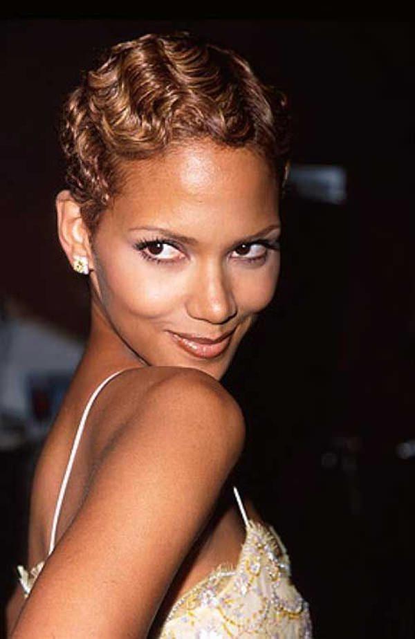 peinados cortos para mujeres negras 56