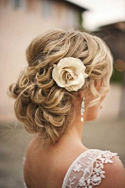 Estilos de cabello de la boda para cabello largo-16