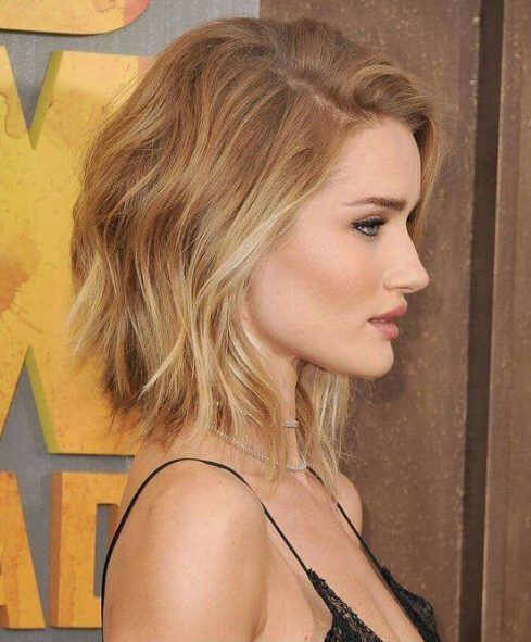 rosie huntington whiteley pelo corto ombre