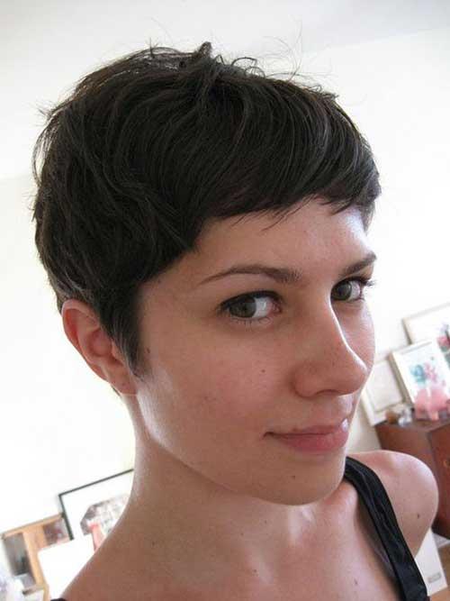Brown Short Hairstyles-13