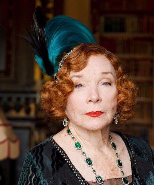 Peinados de Shirley MacLaine para mujeres mayores de 60 años