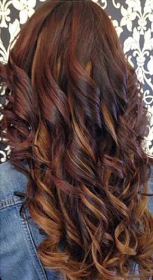 Cute Long Curly Hairstyles-28