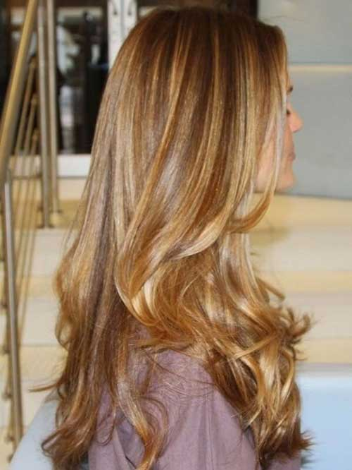 El mejor tinte de cabello rubio caramelo para cabello castaño oscuro