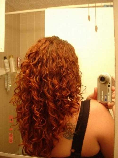 Kinky Curly Long Layered Curly Hair Styles