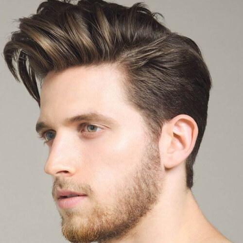 Peinados Pompadour