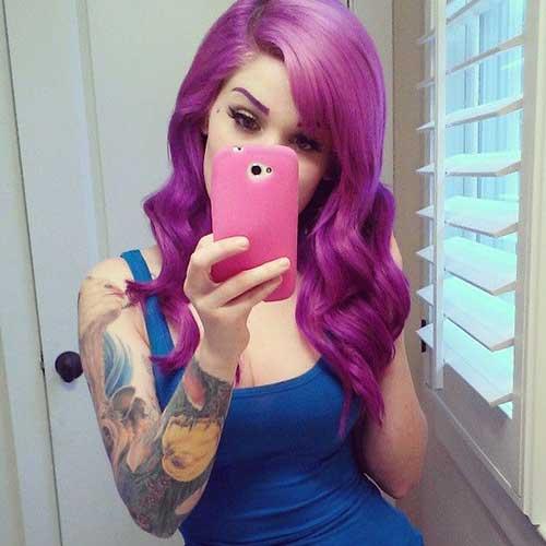 Peinados punk para cabello rizado-26