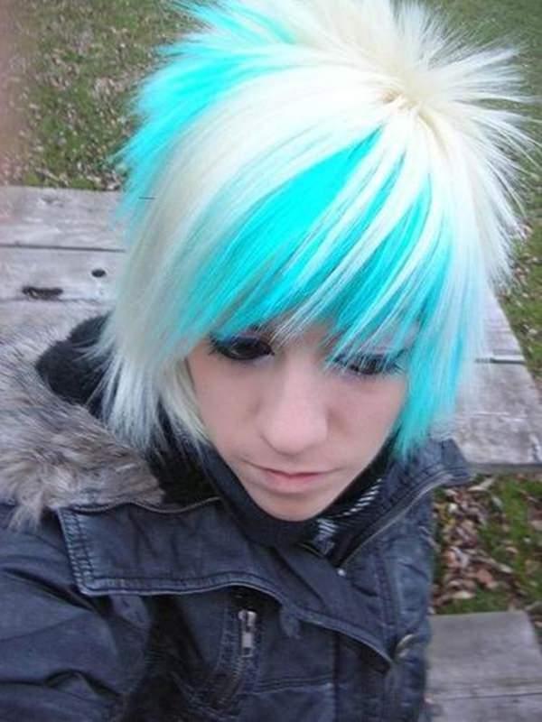 peinados emo 35