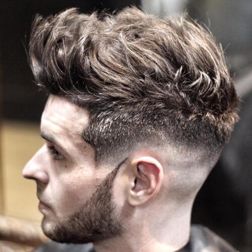 Peinados para hombres con cabello ondulado grueso