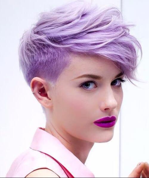 elegante pixie corte peinados cortos