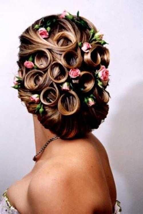 Imágenes del cabello de la boda
