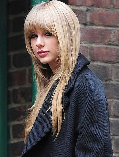 Pelo largo Taylor Swift