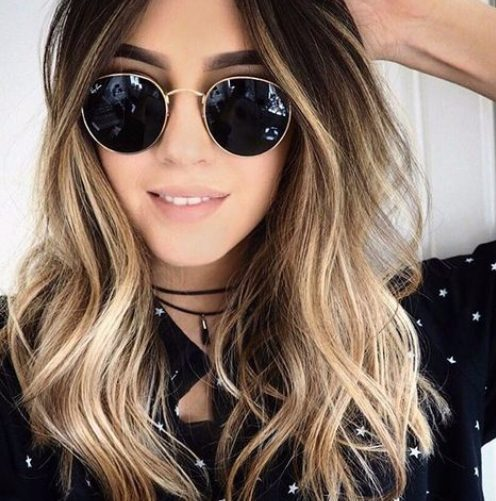 color de cabello hipster balayage