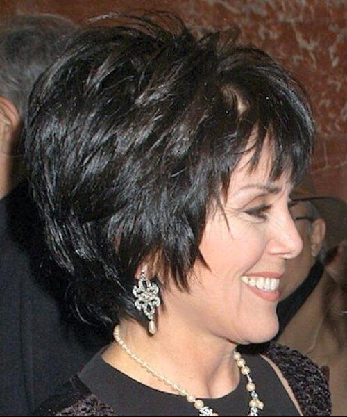 peinados peludos para mujeres mayores de 50 años
