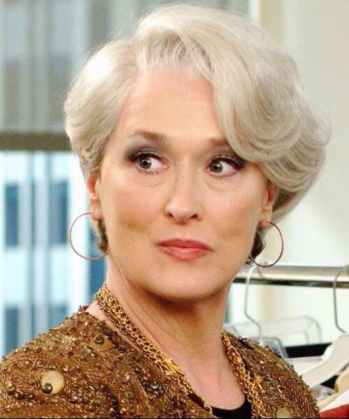 meryl streep el diablo usa peinados prada para mujeres mayores de 40 años