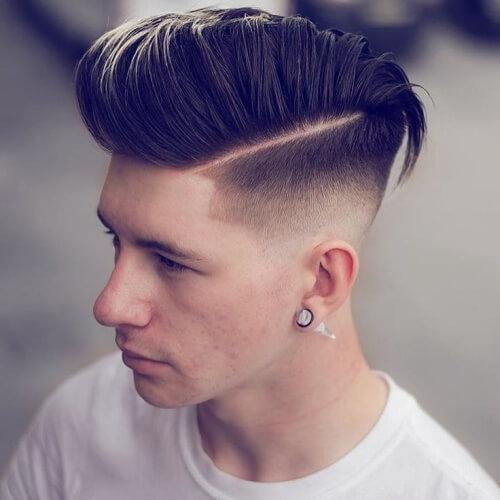 Peinados de partes duras