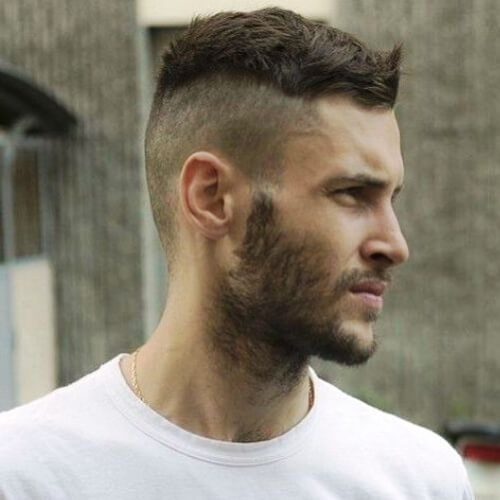 Short Undercut Men