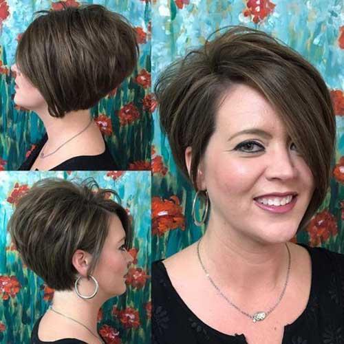 Brown Short Hairstyles-14