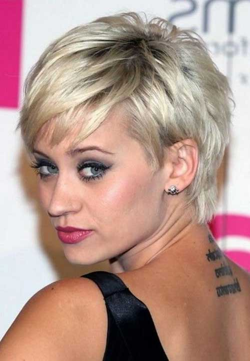 Short Pixie Cuts para cabello fino