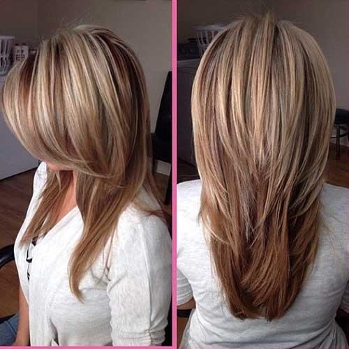 Peinados largos en capas-10
