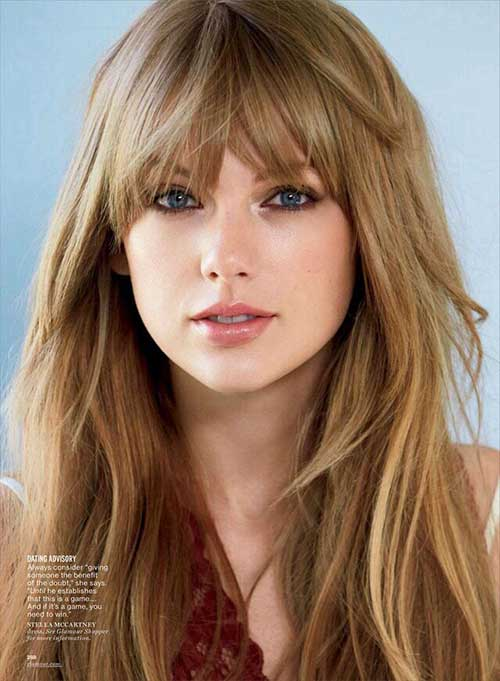 Peinados de celebridades con flequillo-18