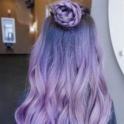 color de pelo lavanda balayage
