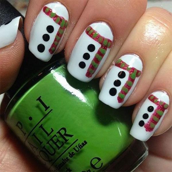 Diseños Nail Art de Navidad.