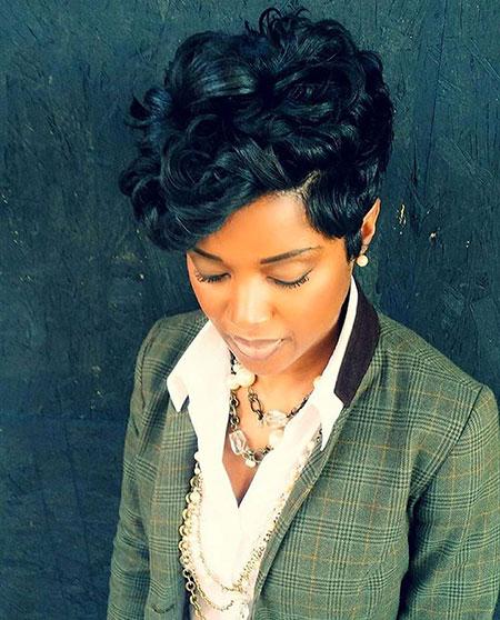 Cortes de pelo cortos para mujer negra - 8