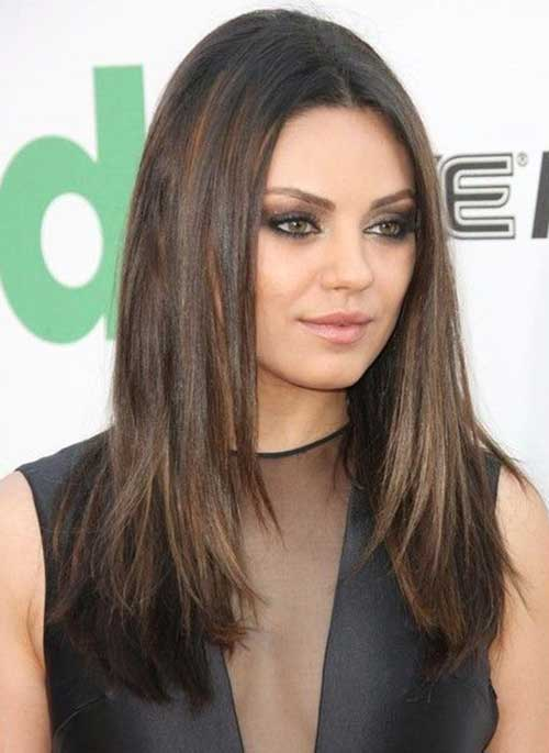 Peinados largos para caras redondas-10