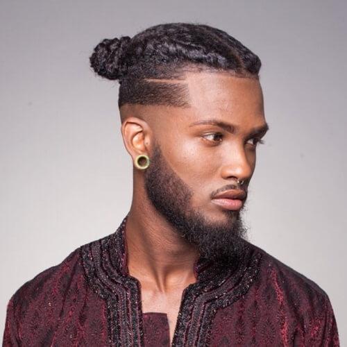 Peinados modernos de inspiración africana para hombres