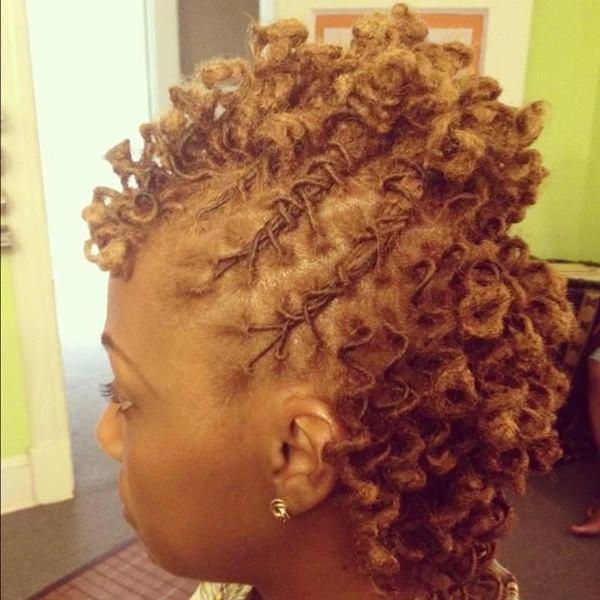 peinados cortos para mujeres negras 48