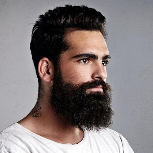 Cortes de pelo cortos para hombres con caras redondas
