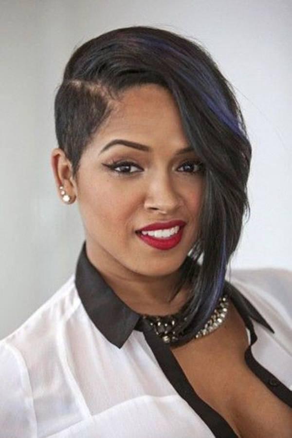 peinados cortos para mujeres negras 49