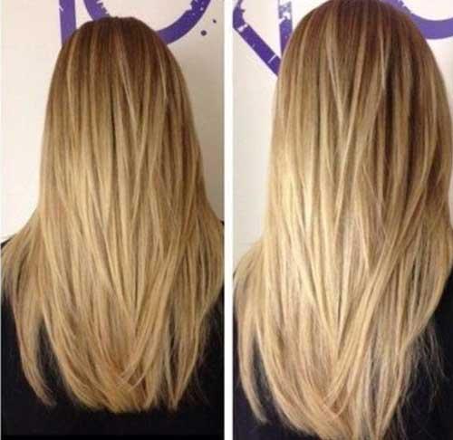 El cabello largo más lindo con la idea de capas