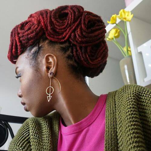havana twist high bun
