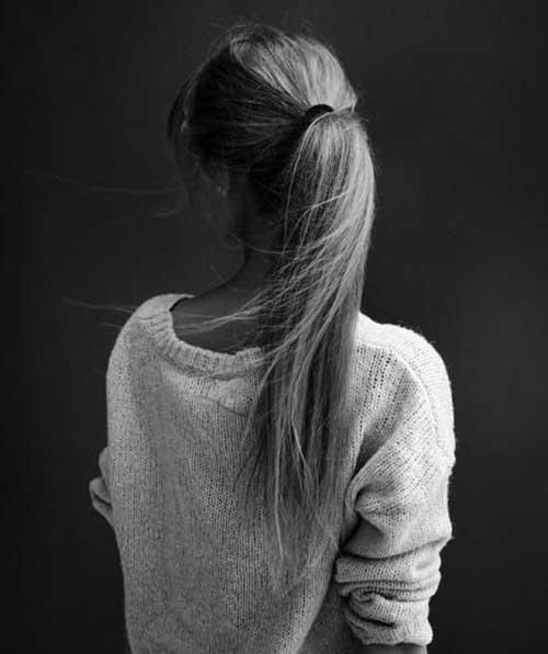 Peinados para chicas de pelo largo -7