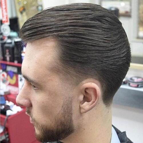 Peinados traseros peinados