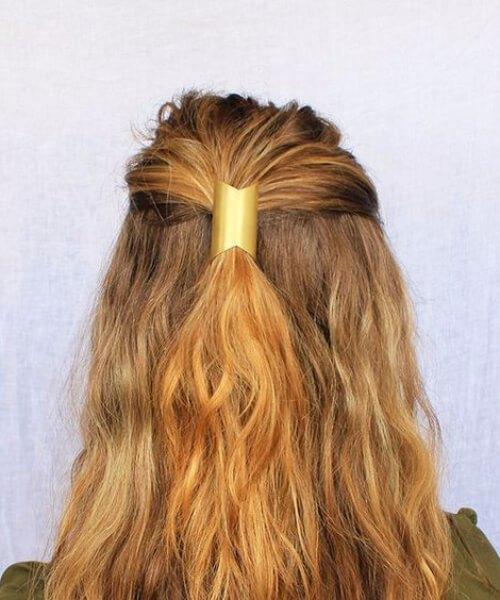 peine de metal butterly hairtsyles para cabello fino