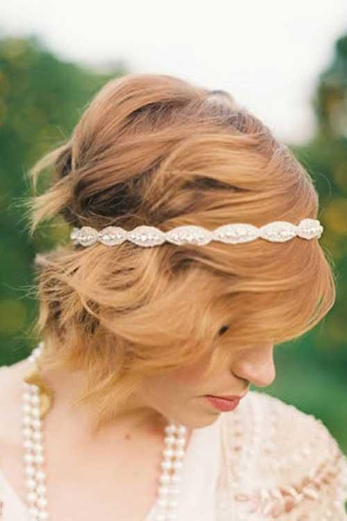 Lindos peinados rubios con diadema