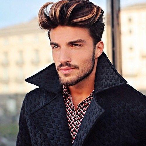peinados de la pompa ventosa para los hombres