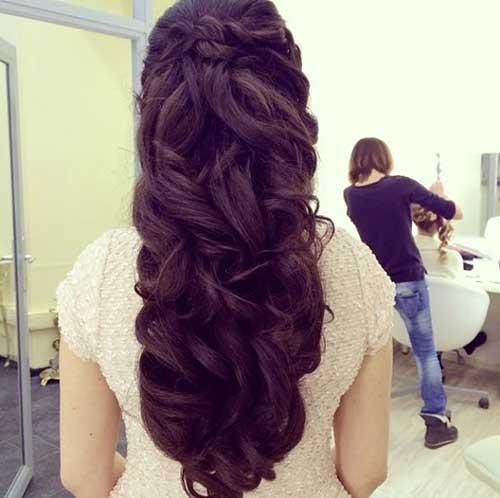 Mejores peinados de boda Vintage Curls