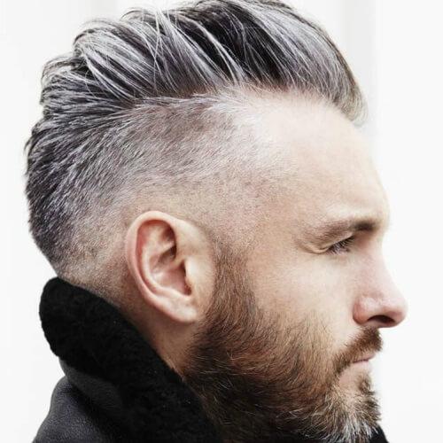 Mohawk Hairstyles para hombres pelo corto