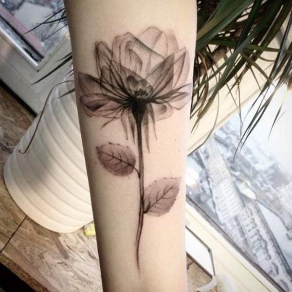 Rayos X Rose Tattoo.