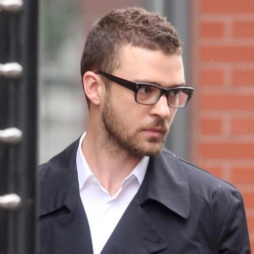 Cortes de pelo cortos de Justin Timberlake