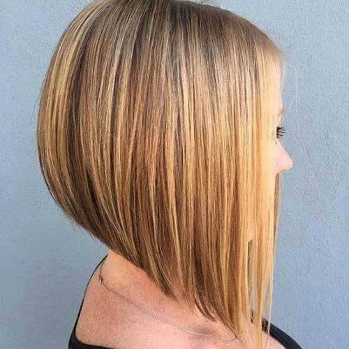 Clean Cut A Line Bob peinados
