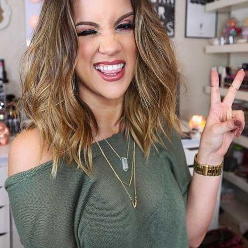 Peinados de Nicole Guerriero para el pelo medio a largo