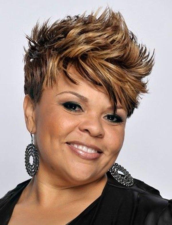 peinados cortos para mujeres negras 64